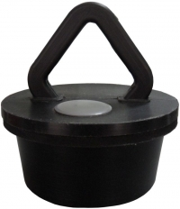 Пробка - ручка черный металл в полимере